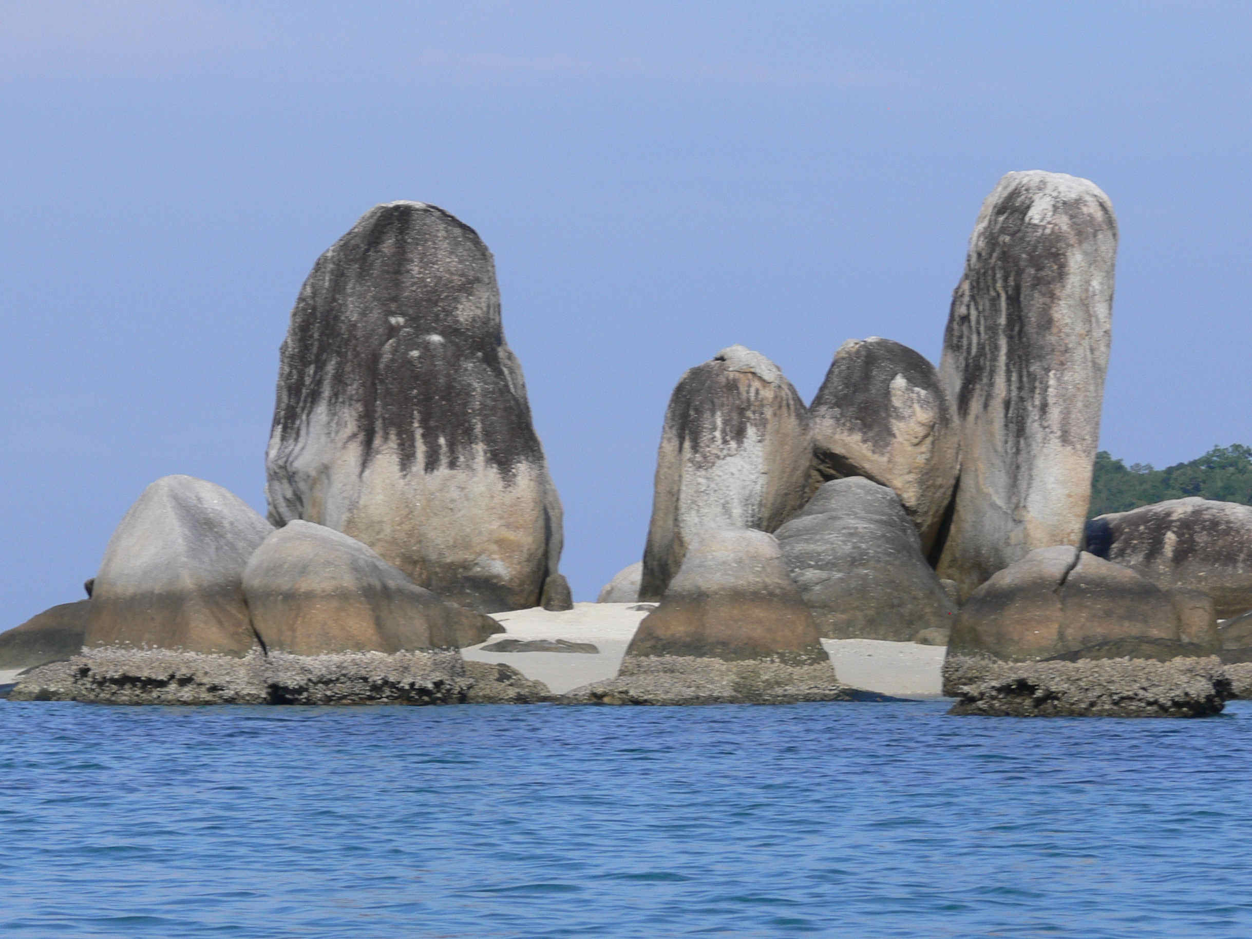 pulau batu layar Belitung Indonesie