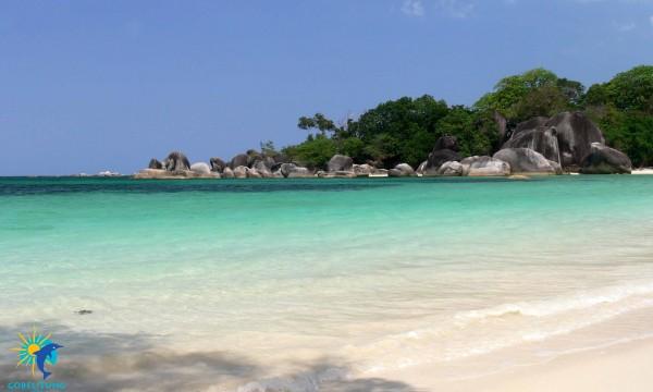 Tanjung Tinggi Beach Belitung Indonésie