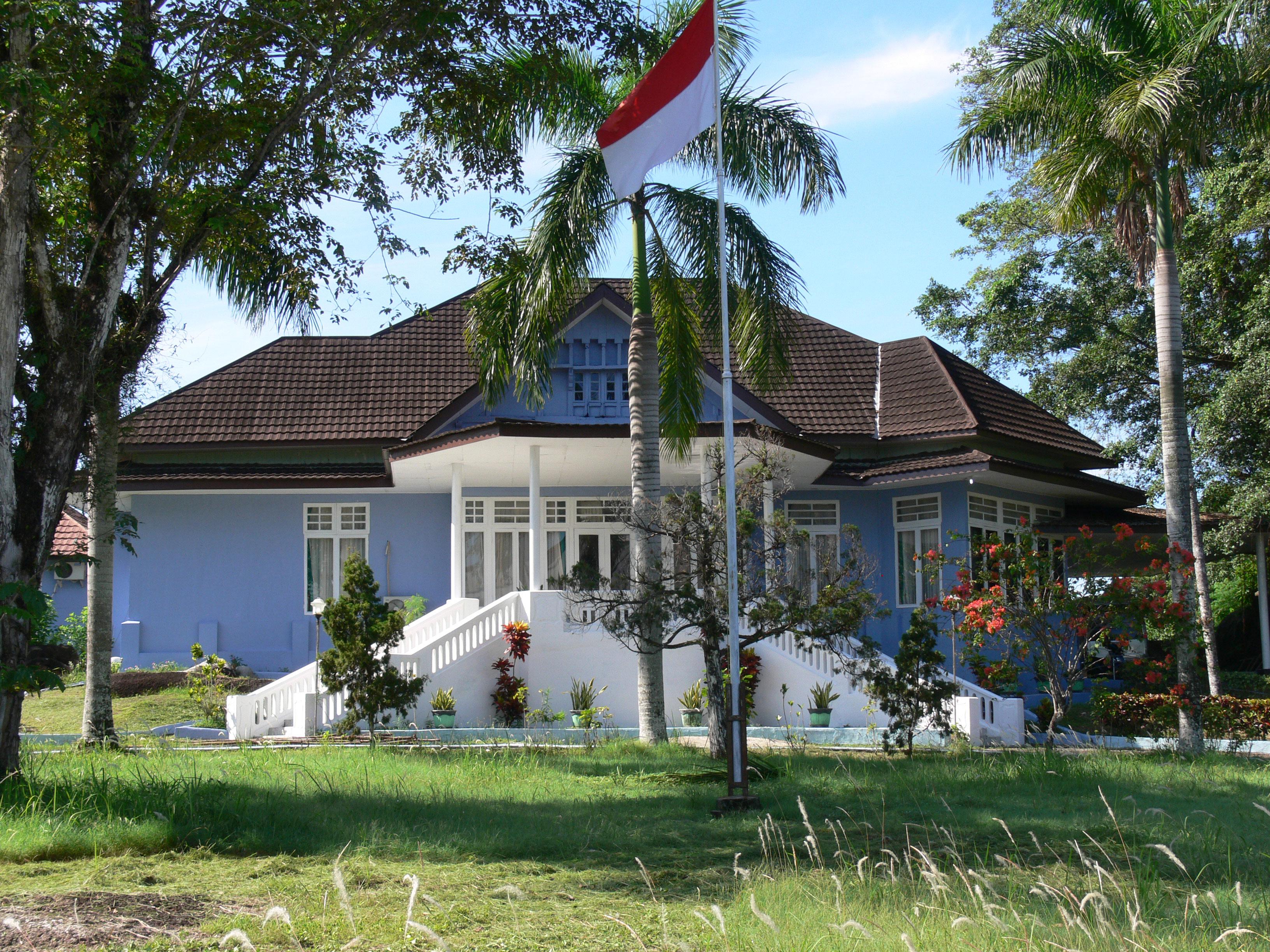 maison du gouverneur hollandais Tanjung Pandan Belitung Indonésie