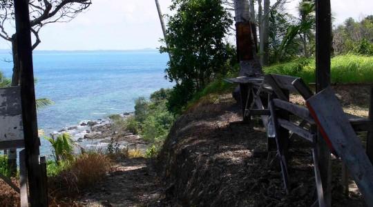 descente a la mer Go Belitung