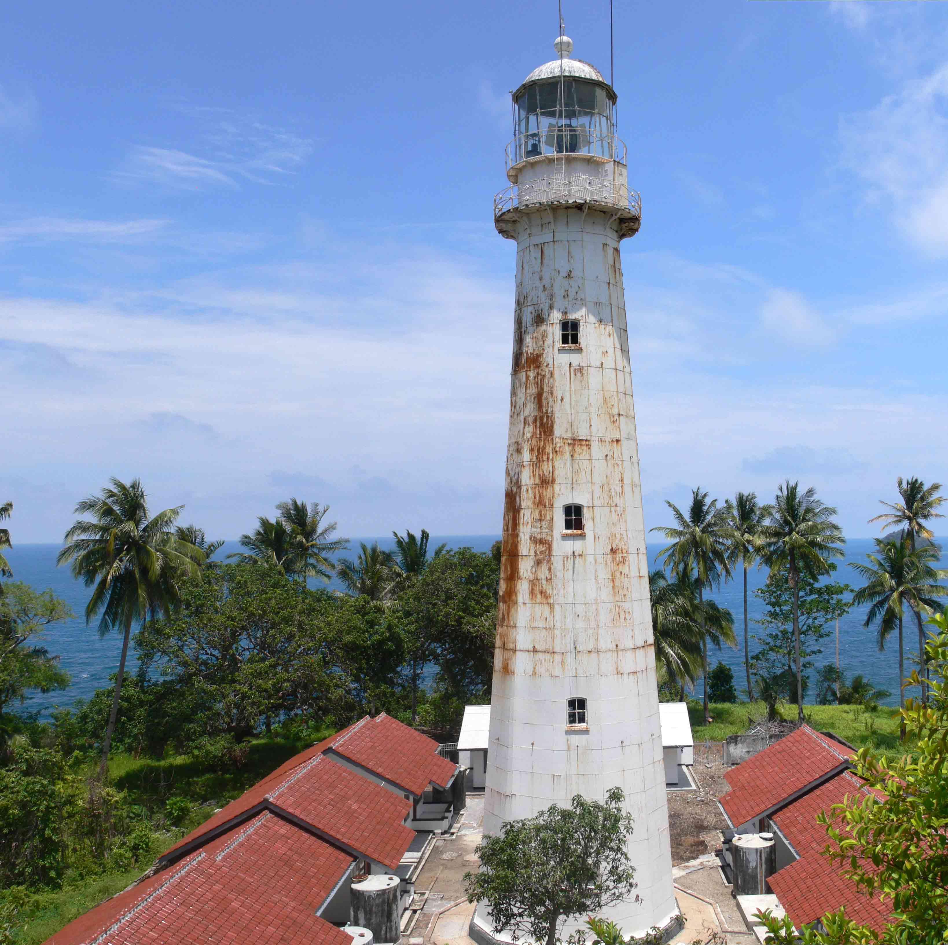phare tanjung lancor Belitung Indonésie Go Belitung