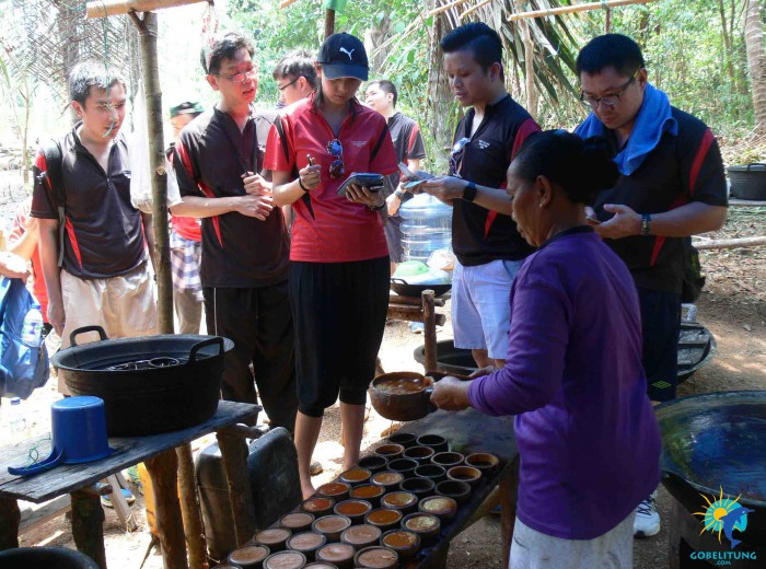 Mettler toledo gula merah Belitung Indonésie