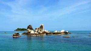 pulau batu berlayar Belitung Indonésie