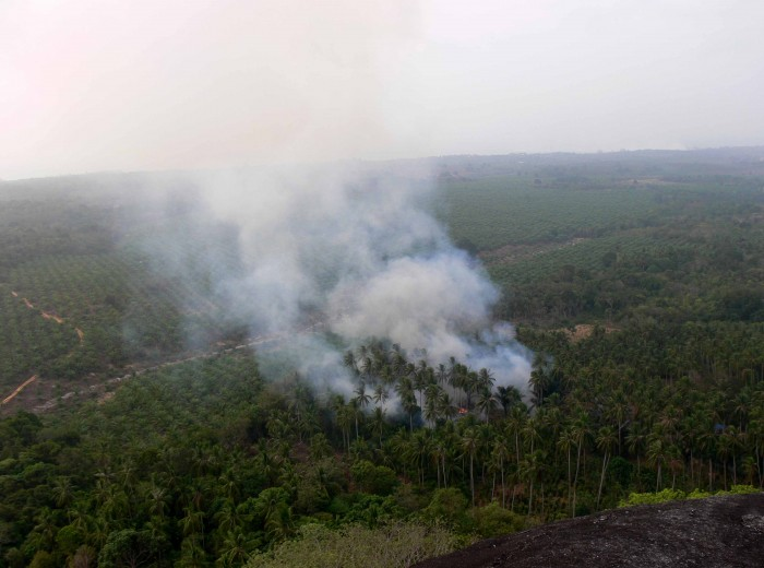 naissance du Haze Belitung Indonésie