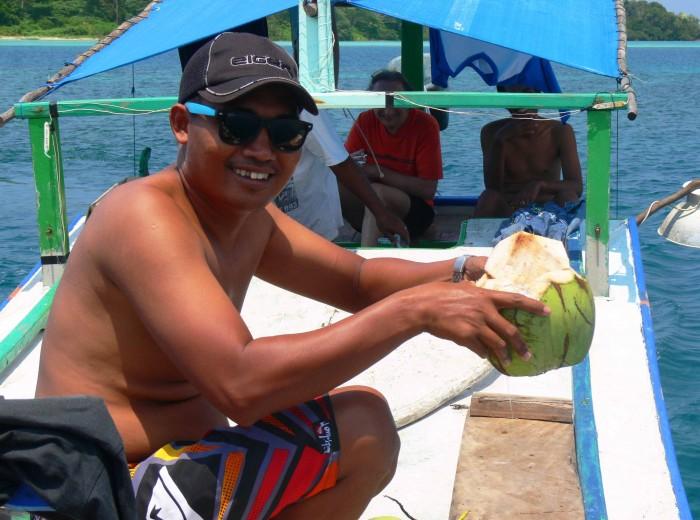 Noix coco Belitung Indonésie