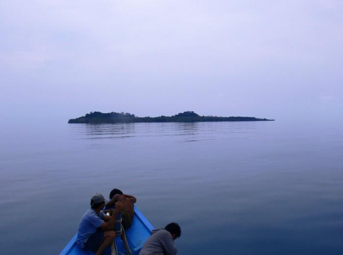 Ile de Melidang Belitung Indonésie