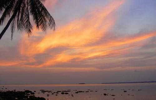 depart de Melidang Belitung Indonesie
