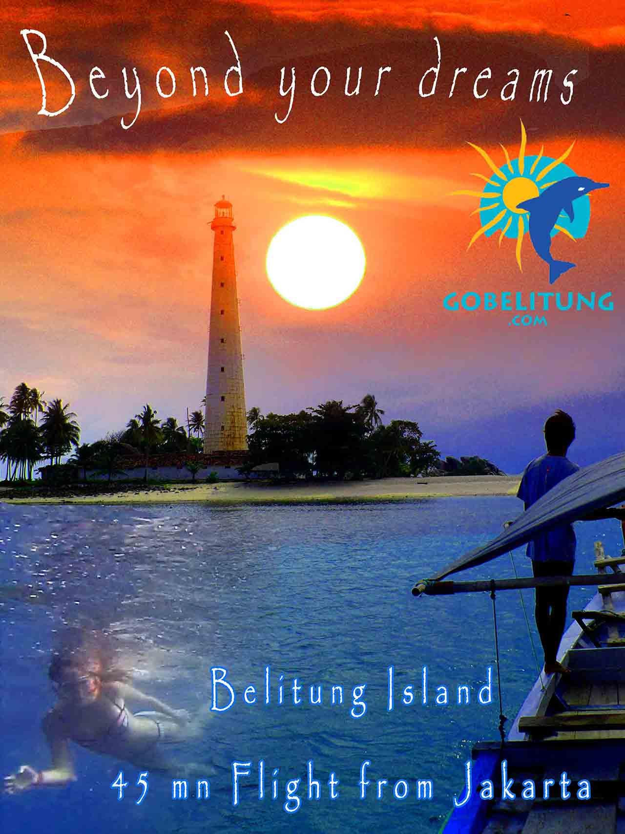 Flyer Go Belitung Indonésie