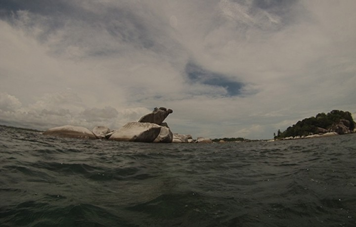 Pulau Batu Garuda Belitung Indonésie Go Belitung