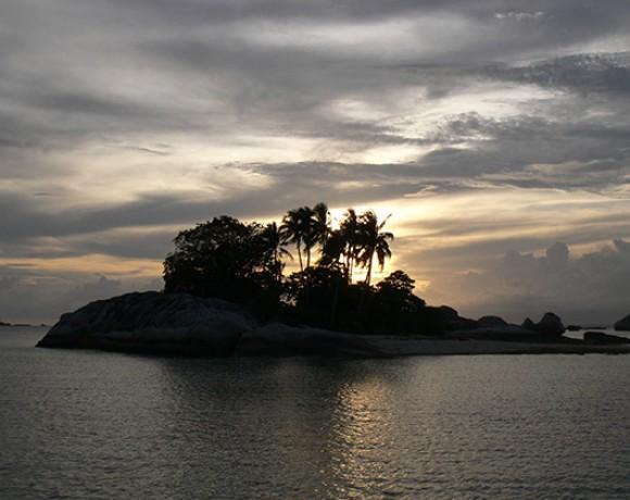 pulau kepayang kecil Belitung Indonésie Go Belitung