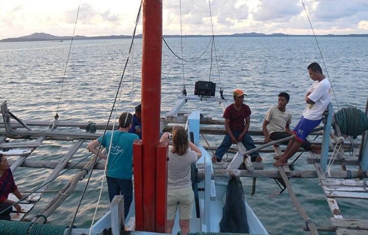 sur le Bagan Belitung Indonésie Go Belitung