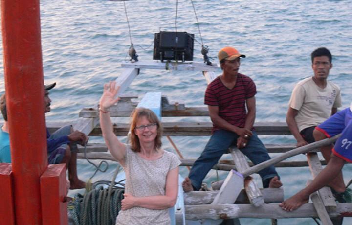 départ du Bagan Belitung Indonésie Go Belitung