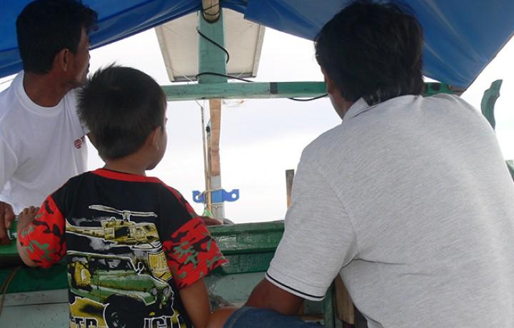 kakek ipar cucuk Belitung Indonésie Go Belitung